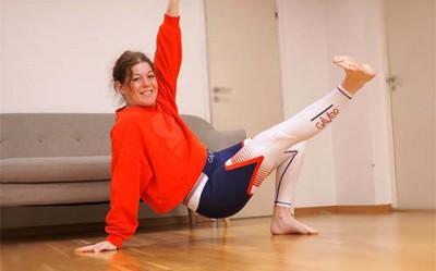Karin Rognehag undervisar i träning och hälsa.