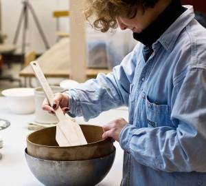 Konst & formgivningslinjens keramikverkstad, bild 4