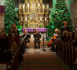 Klassisk konsert i S:t Nicolaikyrkan, Örebro, 2019.