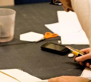 Konst & formgivningslinjens tetilateljé, bild 1