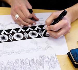 Konst & formgivningslinjens tetilateljé, bild 2