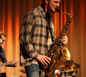 Olle på Saxofon