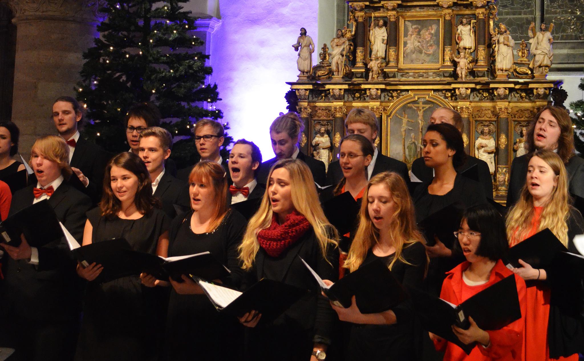 Julkonsert Nicolaikyrkan 19/12 2013 - 1