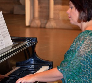 Pianist i Nicolaikyrkan