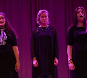 Tre sångare