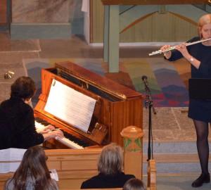 Pianist och flöjtist