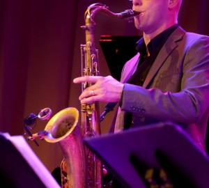 Saxofonist.
