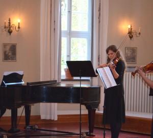 Kammarmusikensemble - pianist, två cellister.
