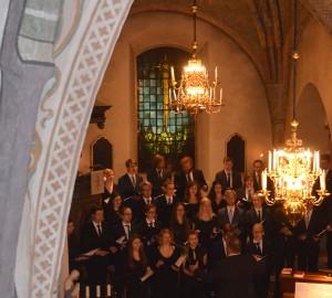 Kävestas kör sjunger i Almby kyrka