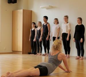 Dansare på golvet,