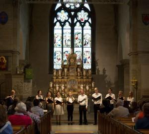 Kör och kammarmusik i S:t Nicolai kyrka 1 juni 2016 - 1