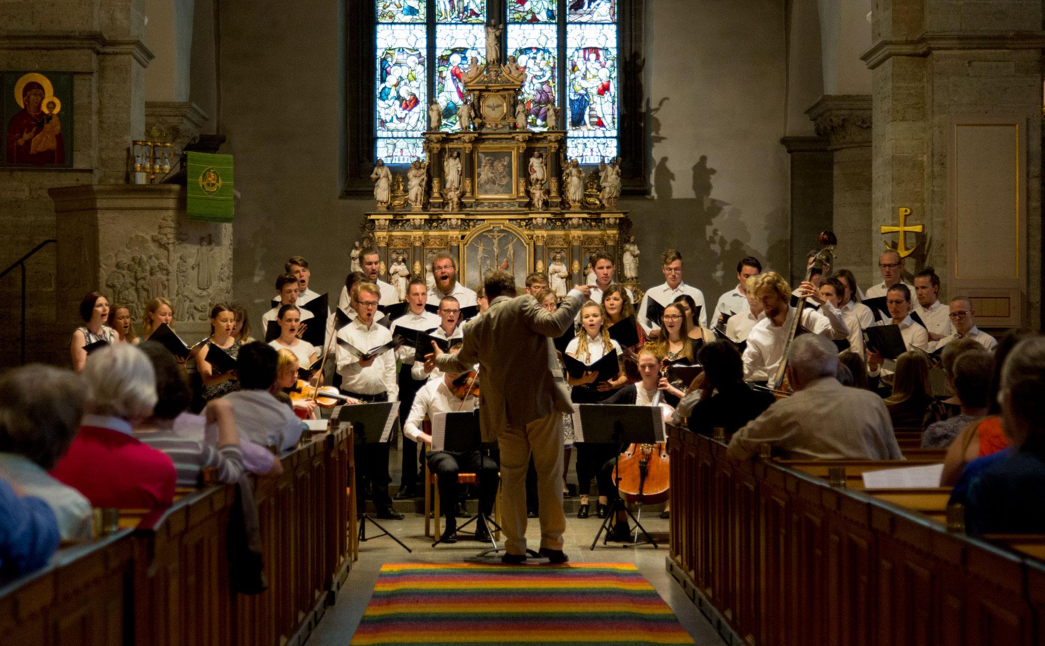 Kör och kammarmusik i S:t Nicolai kyrka 1 juni 2016 - 12