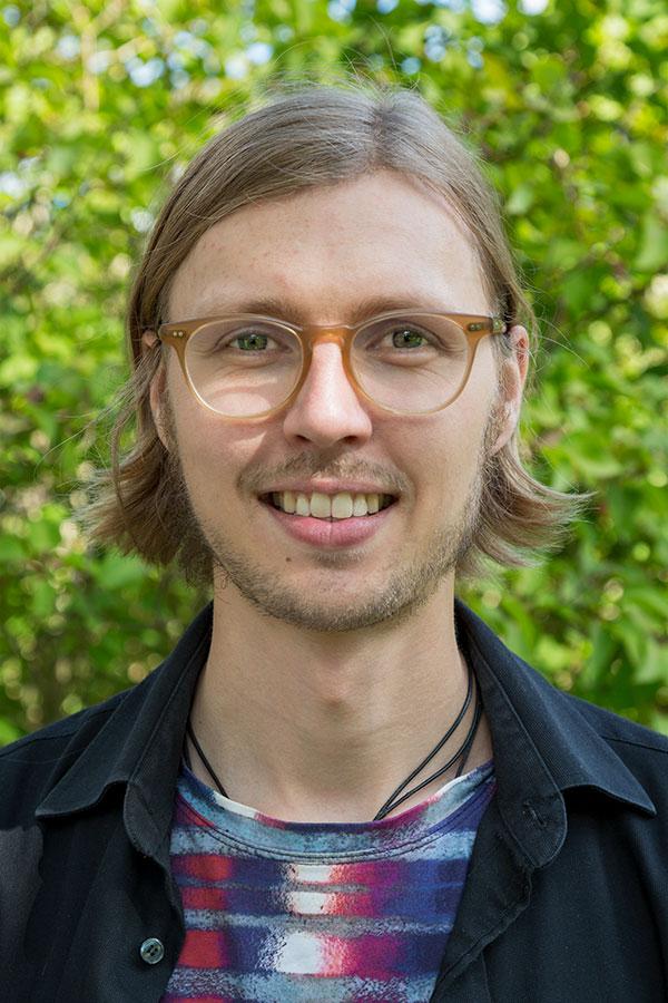 Porträttfoto Daniel Wiklund