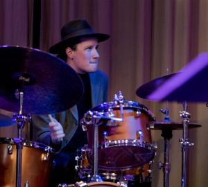 En trummis.