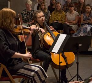 Kör och kammarmusik i Nicolai kyrka 31 maj 2017 - 0