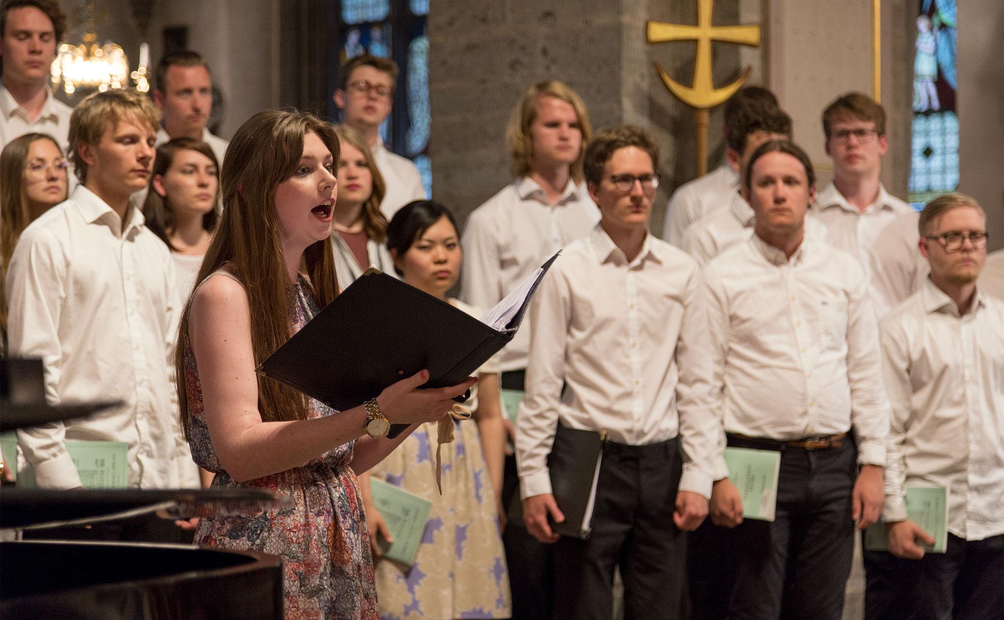 Kör och kammarmusik i Nicolai kyrka 31 maj 2017 - 9