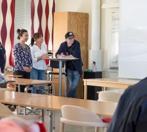 Deltagare från inriktningen Geografi och kulturer på Allmän kurs berättade om sin Finlandsresa.