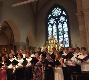 Kör och kammarmusik i S:t Nicolai kyrka - 2018-05-29 10
