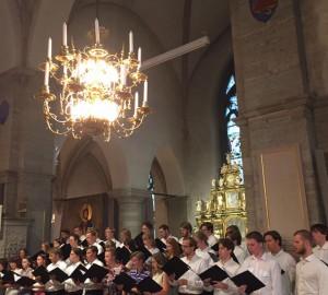 Kör och kammarmusik i S:t Nicolai kyrka - 2018-05-29 11
