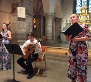 Kör och kammarmusik i S:t Nicolai kyrka - 2018-05-29 4
