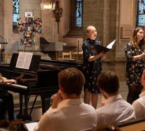 Kör och kammarmusik i S:t Nicolai kyrka 2019-05-03 - 7